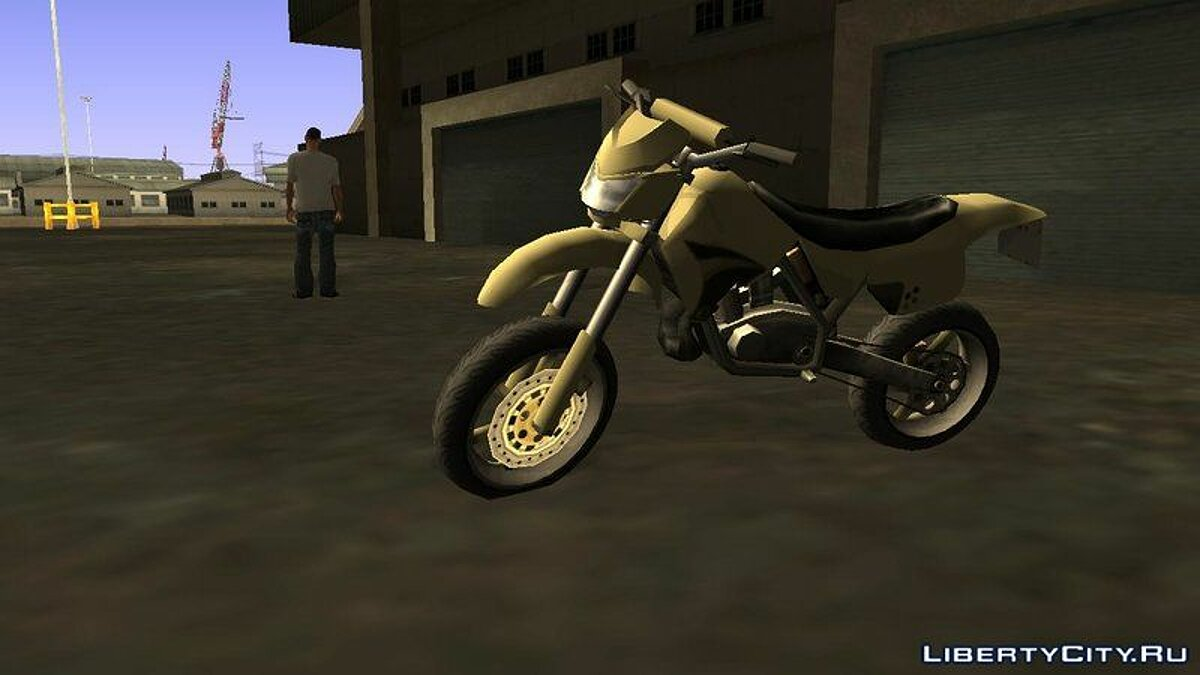 XT 660 Beta - Sanchez Edit (Sa-Style) для GTA San Andreas - скриншот #4