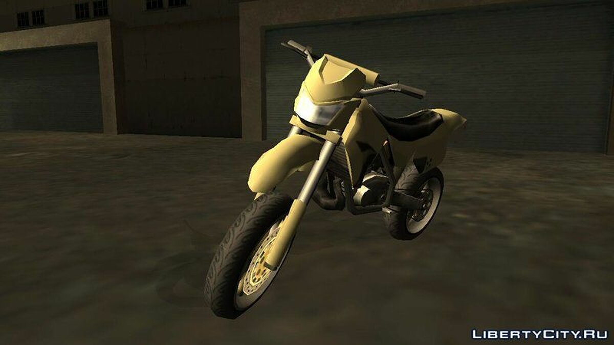 XT 660 Beta - Sanchez Edit (Sa-Style) для GTA San Andreas - скриншот #2