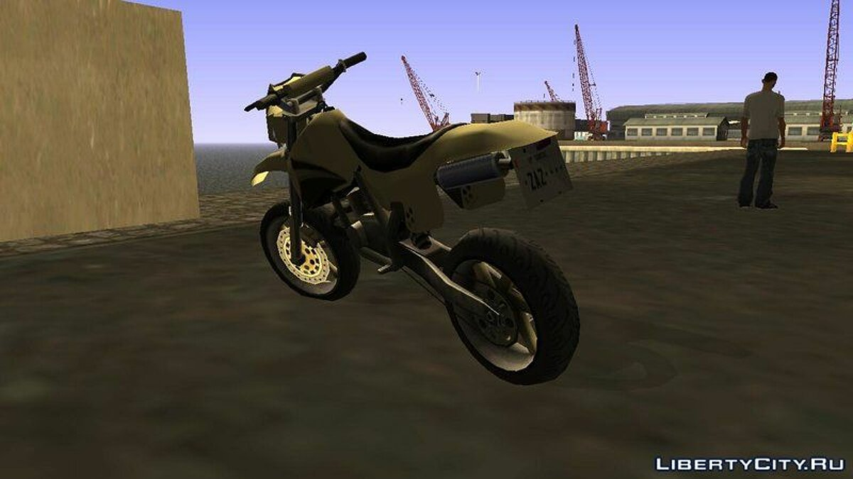 XT 660 Beta - Sanchez Edit (Sa-Style) для GTA San Andreas - скриншот #3
