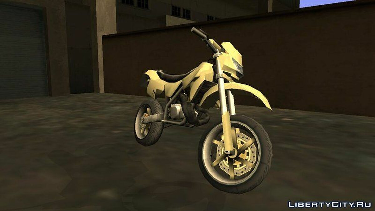 XT 660 Beta - Sanchez Edit (Sa-Style) для GTA San Andreas