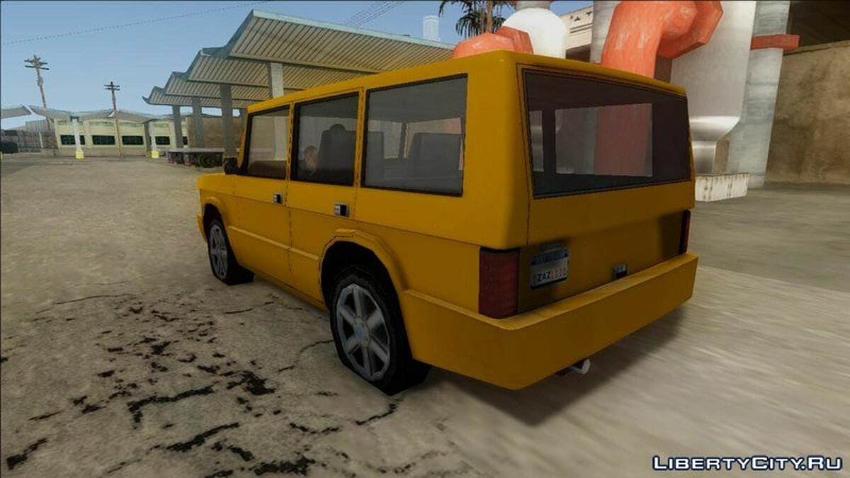 New Huntley Taxi для GTA San Andreas - скриншот #2