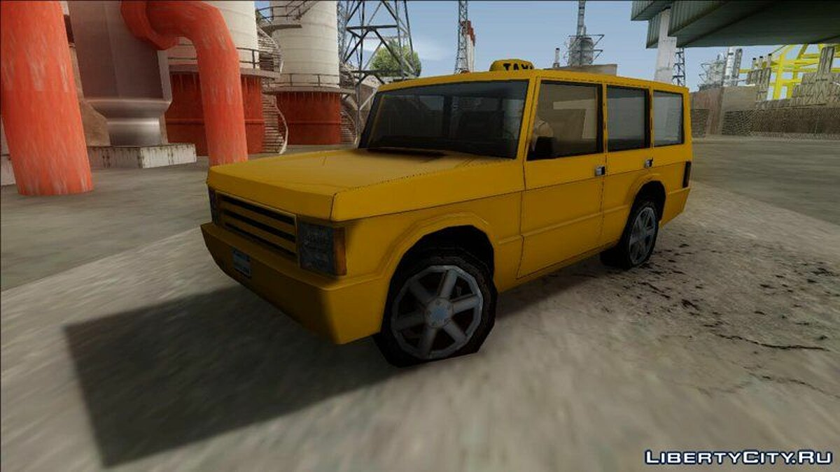 New Huntley Taxi для GTA San Andreas