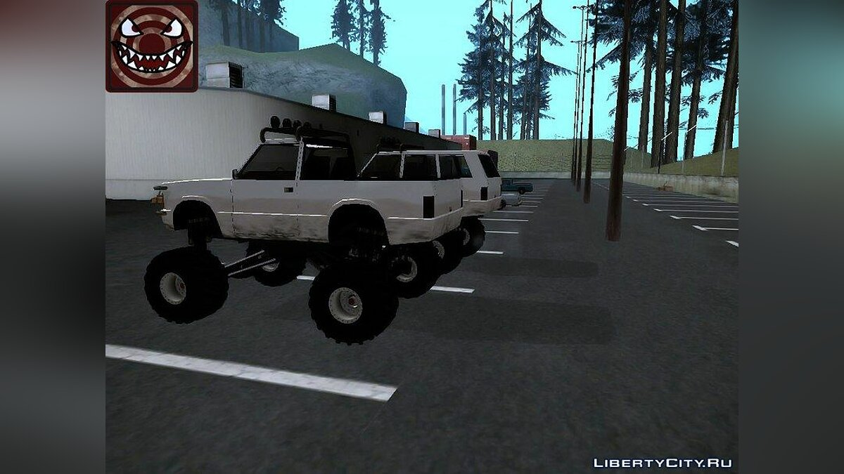��ашина Huntley-Monster v3.0 для GTA San Andreas