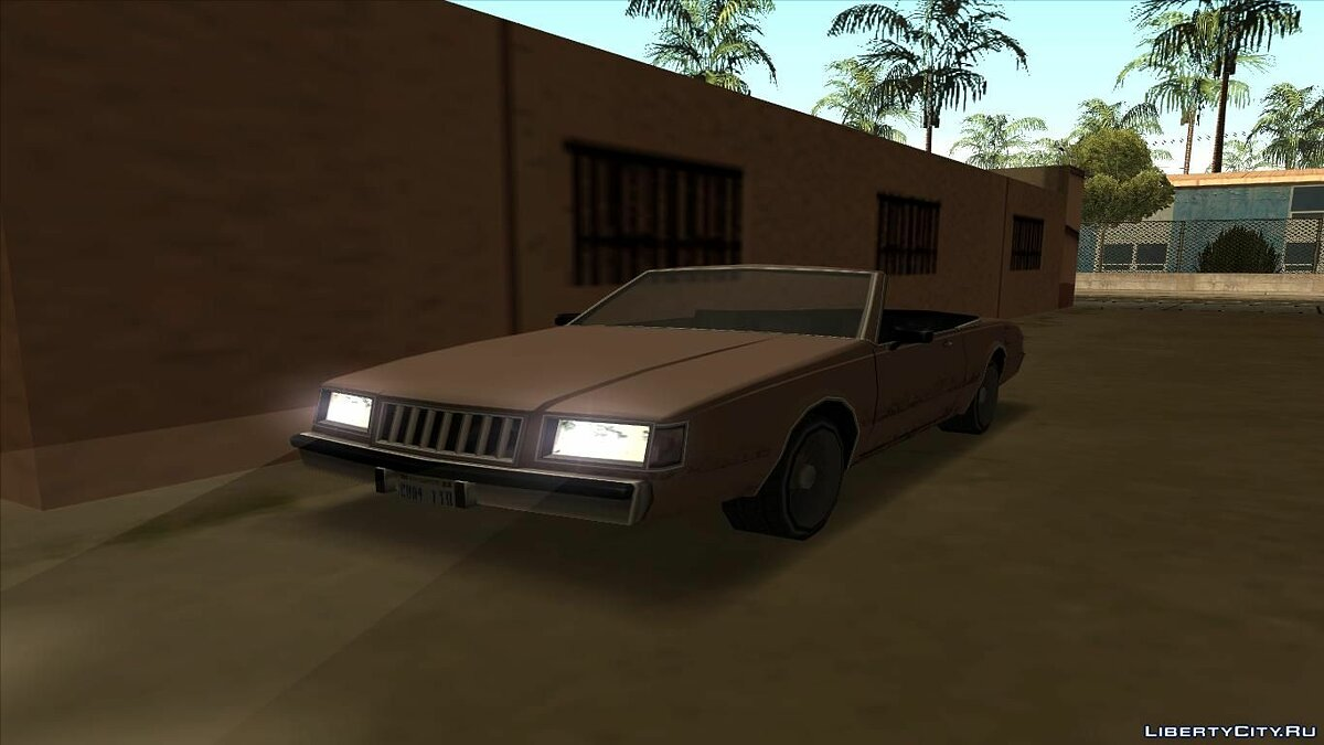 Машина Majestic without roof для GTA San Andreas