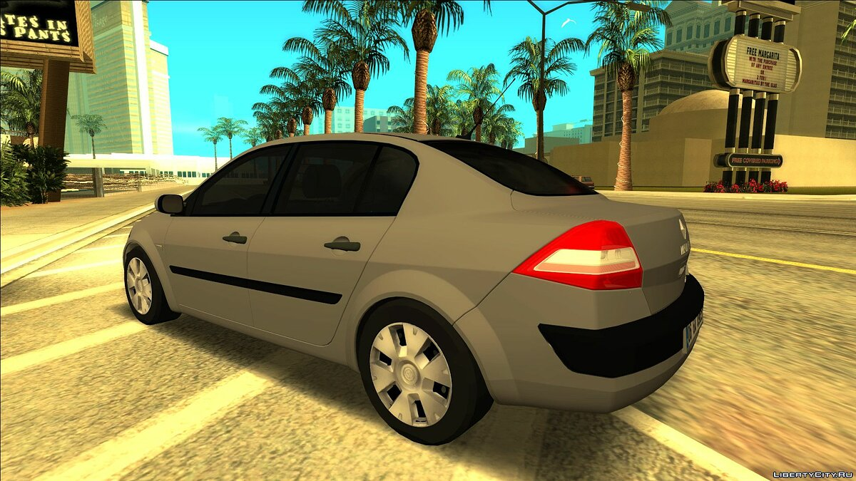 Машина Renault Renault Megane Sedan Authentique (Phase 2) для GTA San Andreas