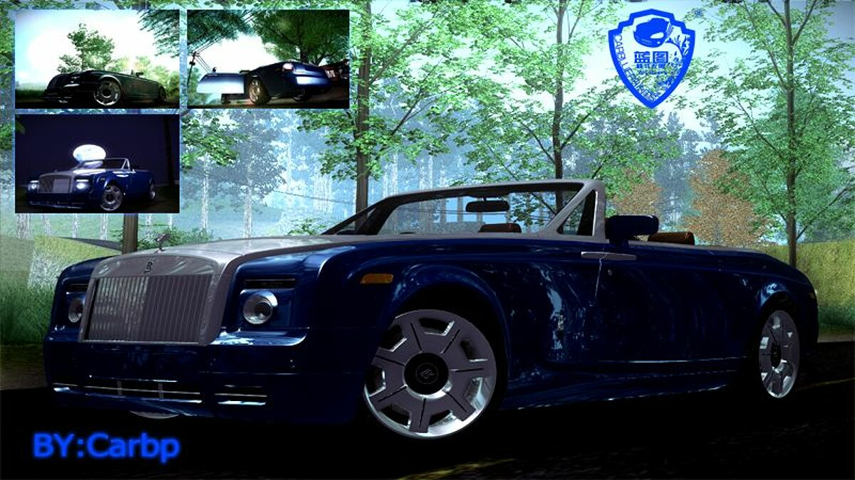 2007 Rolls Royce Phantom Drophead Coupe V1.0 для GTA San Andreas
