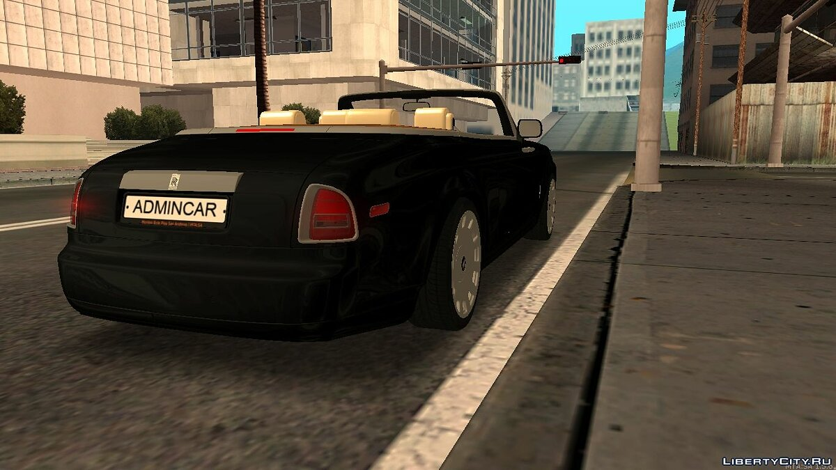 Rolls-Royce Phantom Drophead Coupe 2007 для GTA San Andreas - Картинка #2