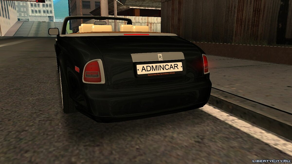 Rolls-Royce Phantom Drophead Coupe 2007 для GTA San Andreas - Картинка #3
