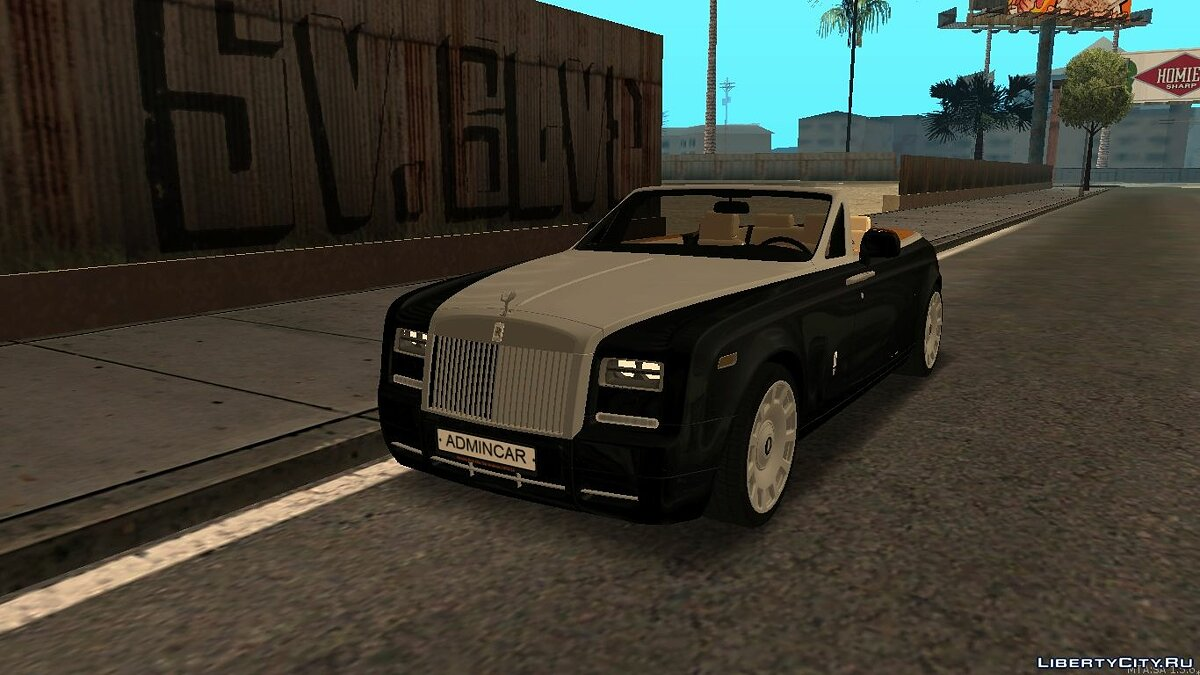 Rolls-Royce Phantom Drophead Coupe 2007 для GTA San Andreas - Картинка #1