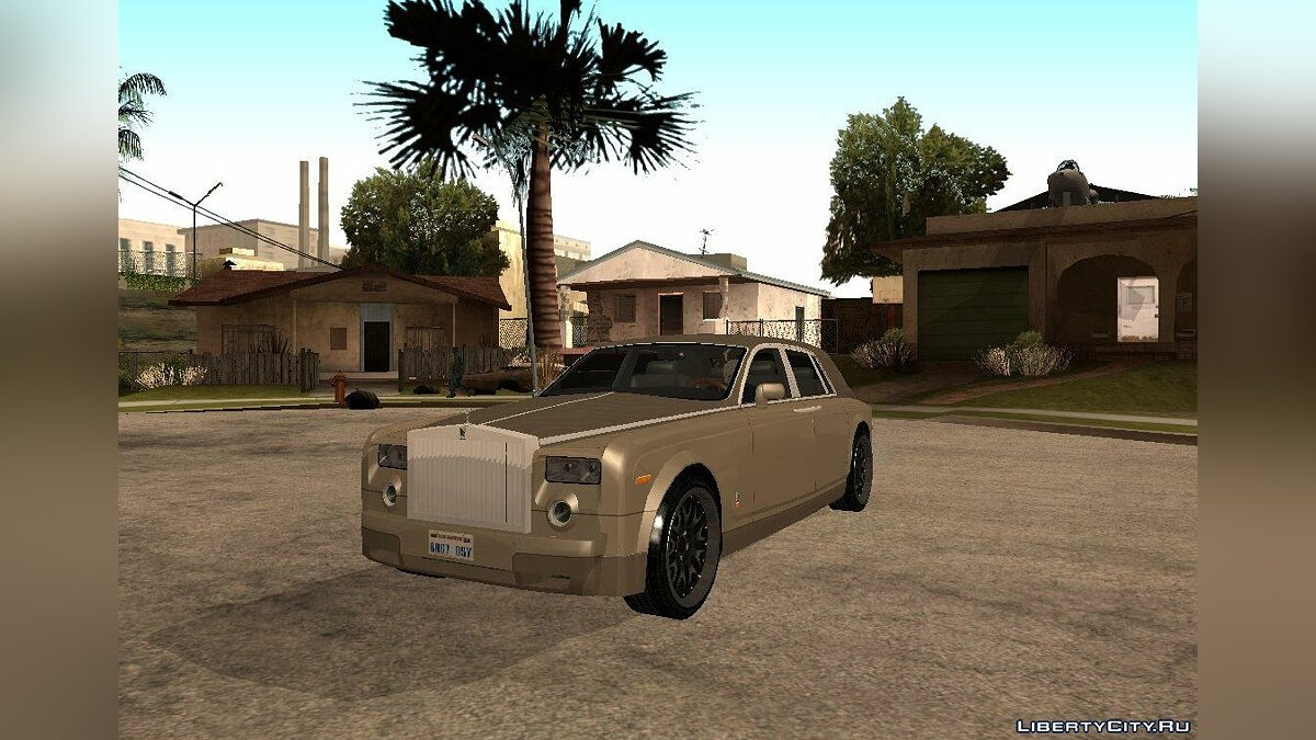Rolls-Royse Phantom V16 Black Revel для GTA San Andreas