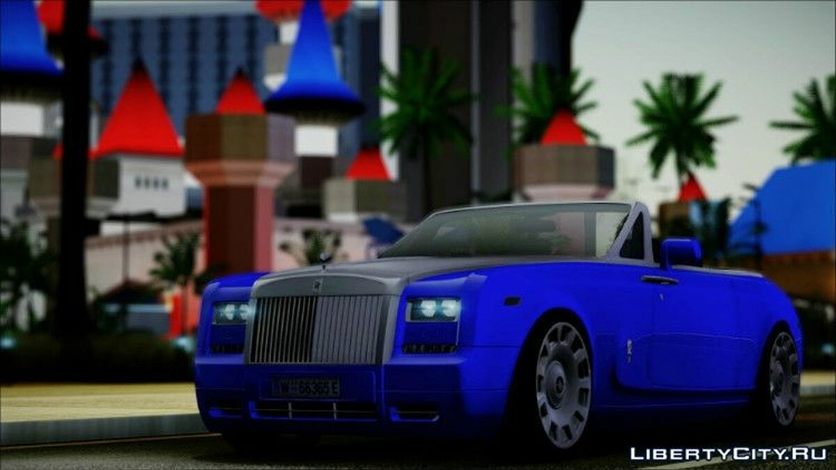Rolls Royce Phantom Drophead Coupe 2013 для GTA San Andreas - скриншот #2