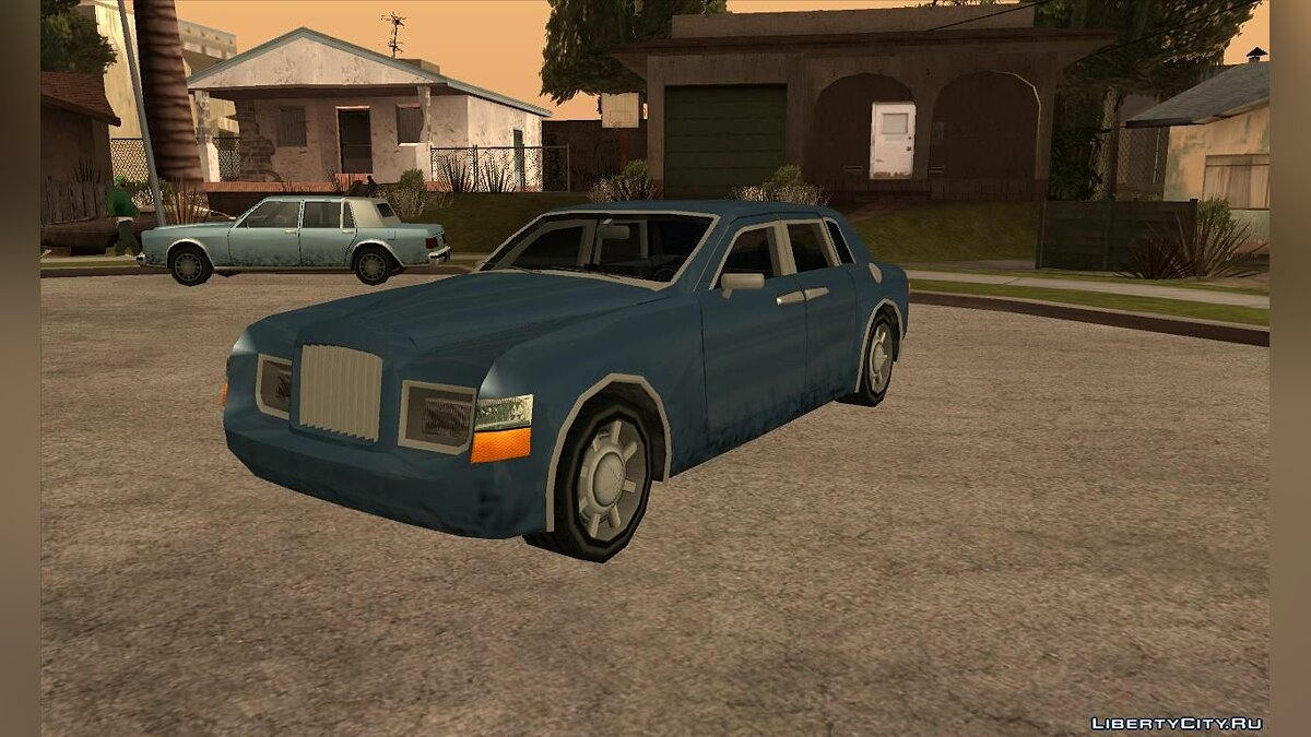 Rolls Royce Phantom в стиле [SA] для GTA San Andreas