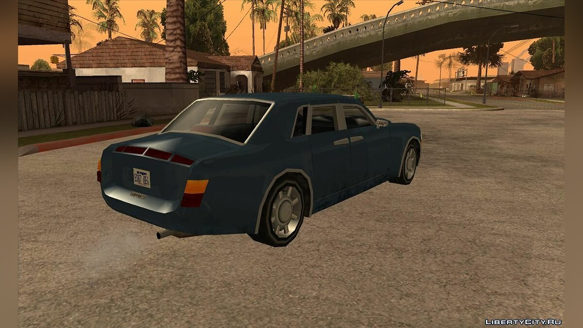 Rolls Royce Phantom в стиле [SA] для GTA San Andreas - скриншот #4