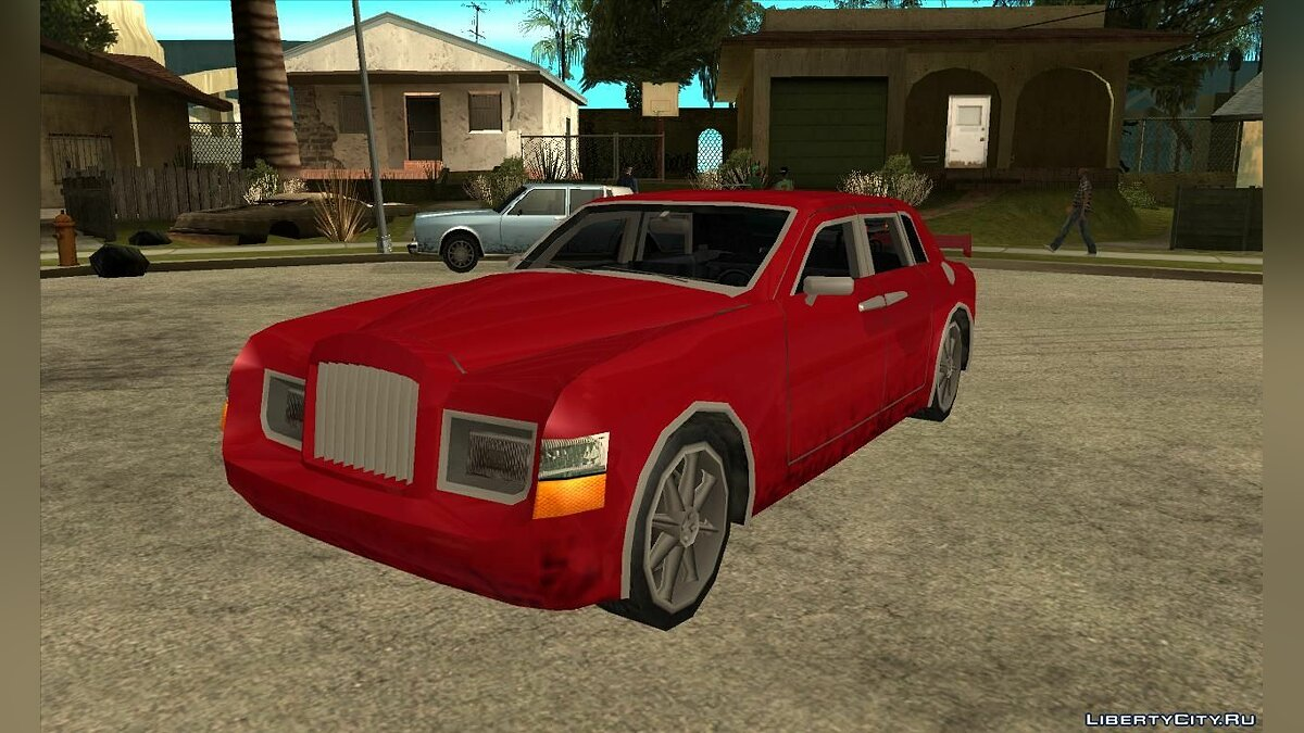 Rolls Royce Phantom в стиле [SA] для GTA San Andreas - скриншот #3