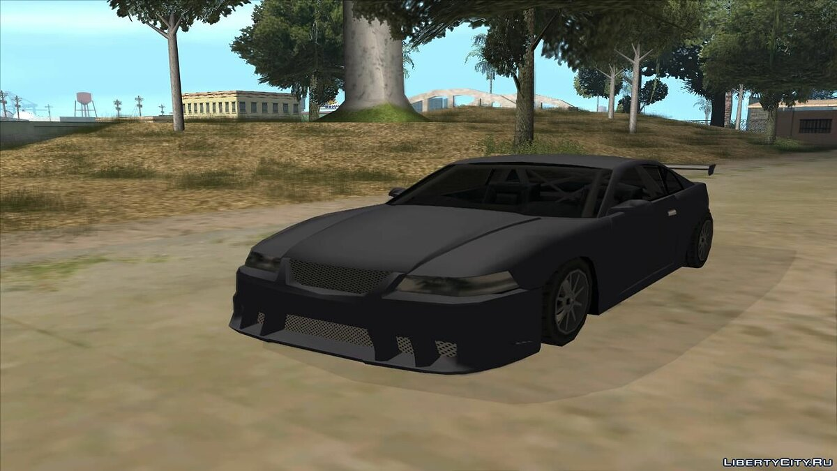 Машина Saleen Saleen S281 2003 Low Poly для GTA San Andreas