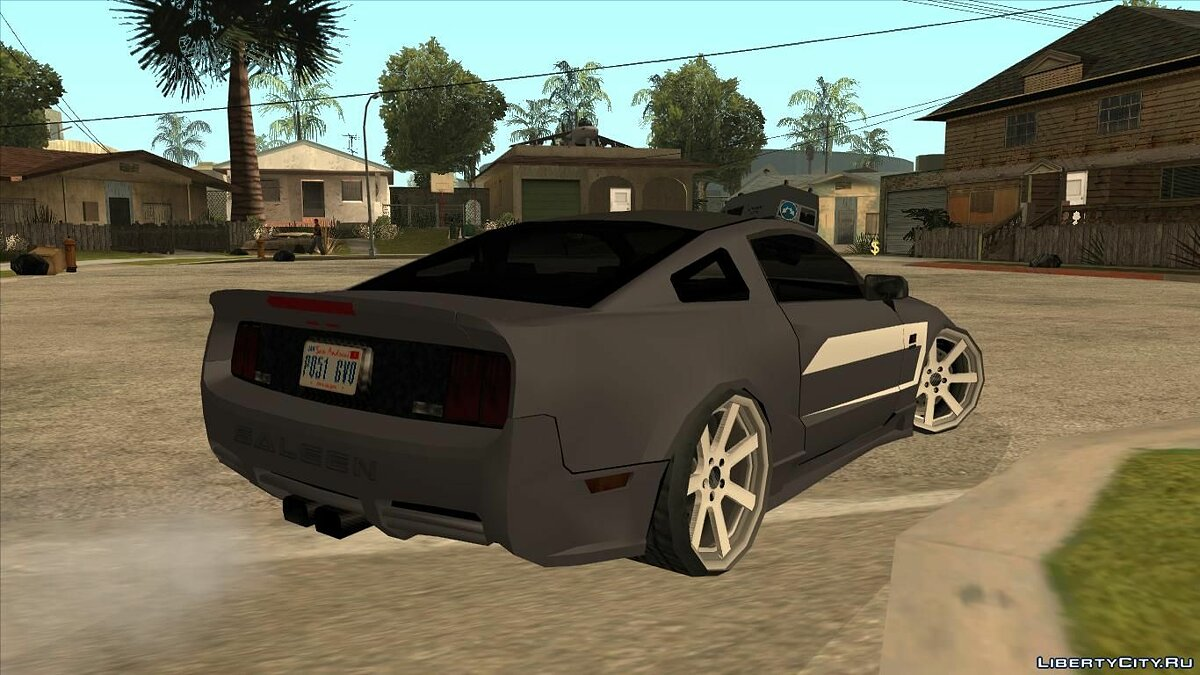 Машина Saleen Saleen S281 Perfomance 2008 Lowpoly для GTA San Andreas