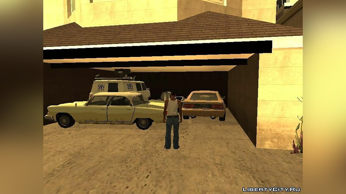 Rare Cars Savegame для GTA San Andreas