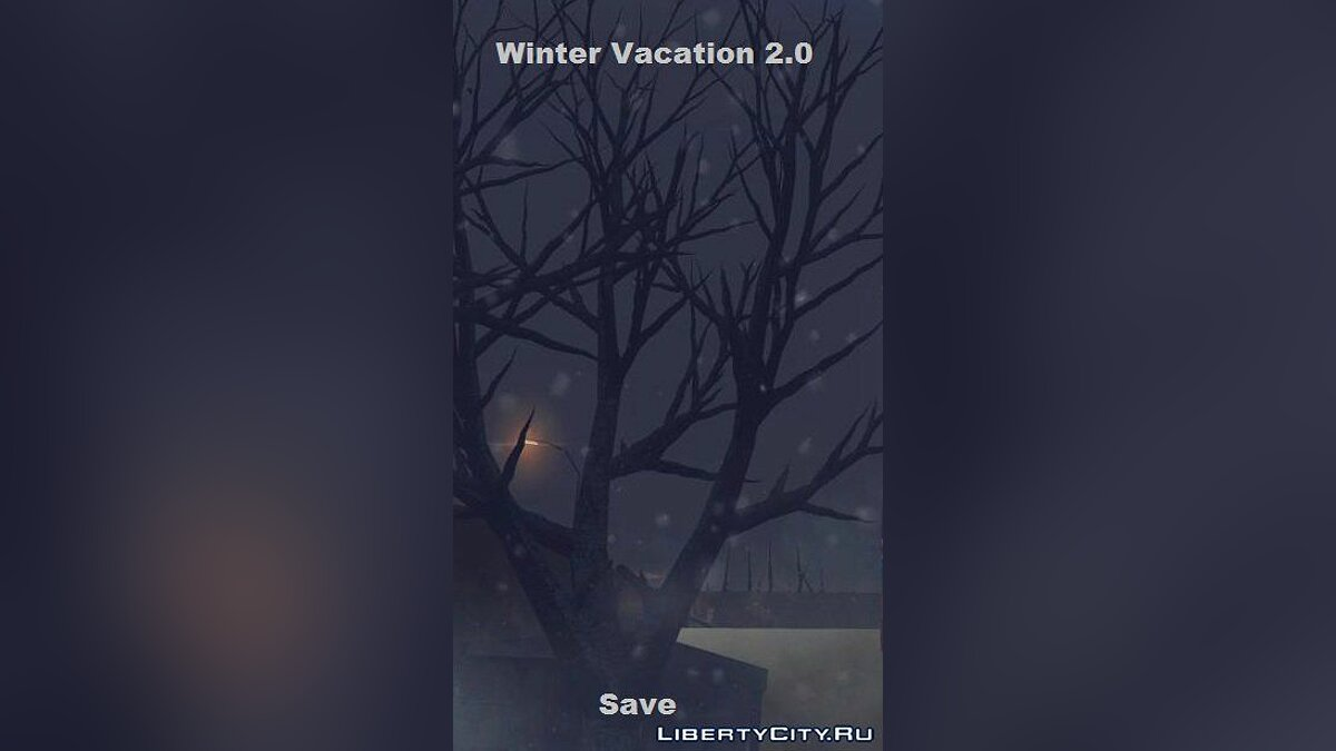 Сохранение для Winter Vacation 2.0 для GTA San Andreas