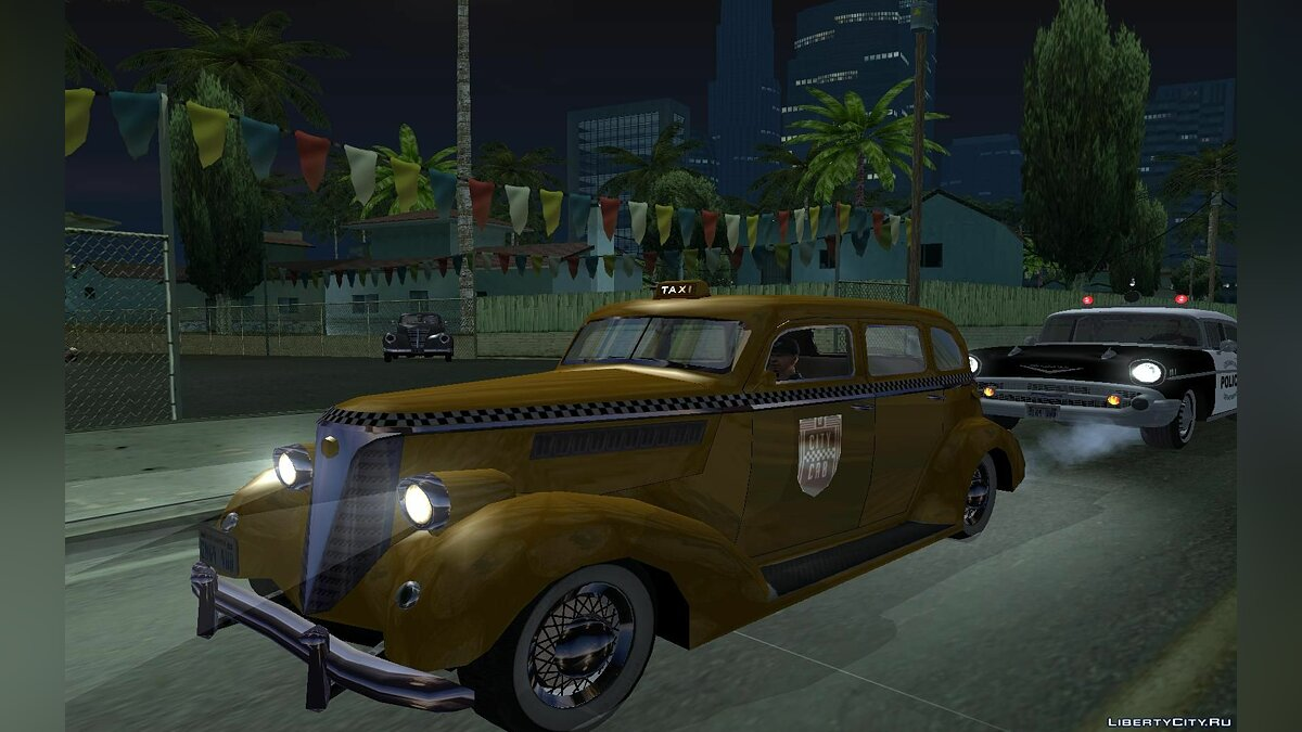 shubert 38 / 1938 Chevrolet Master Sedan TAXI для GTA San Andreas