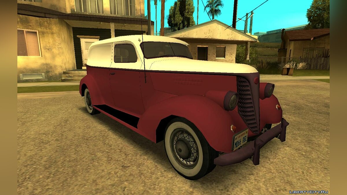 Машина Schubert Shubert 38 Panel Truck (V2 Version) для GTA San Andreas