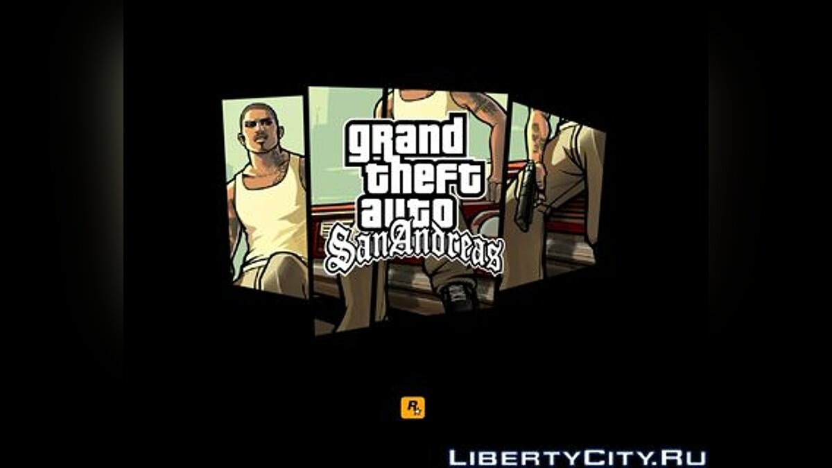 ��кринсейвер San Andreas boys screensaver для GTA San Andreas
