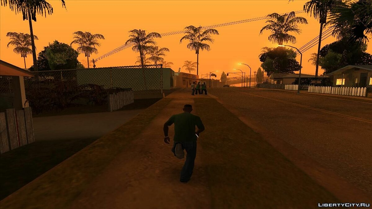 Redtrek's Camera Mods для GTA San Andreas