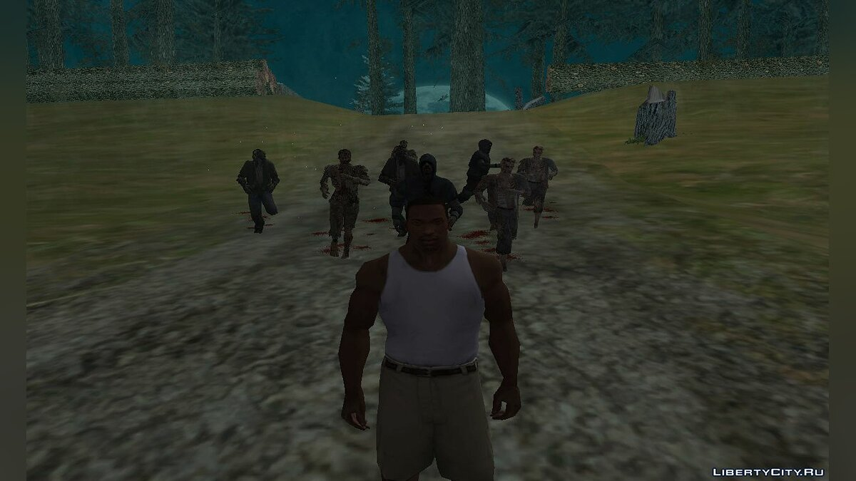 CLEO скрипт Deadly Left 4 Dead Gang Remade v3.5 для GTA San Andreas