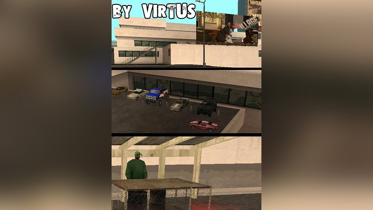 Car's shop in San-Fierro beta для GTA San Andreas