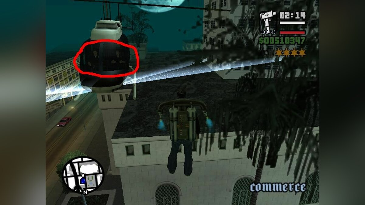 Police Helicopters Fix для GTA San Andreas