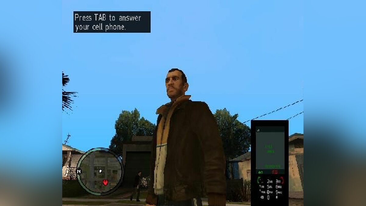 CLEO скрипт IV Style Cellphone для GTA San Andreas