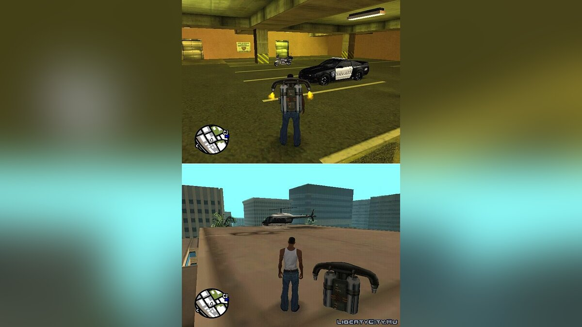 Cars & Helicopters для GTA San Andreas