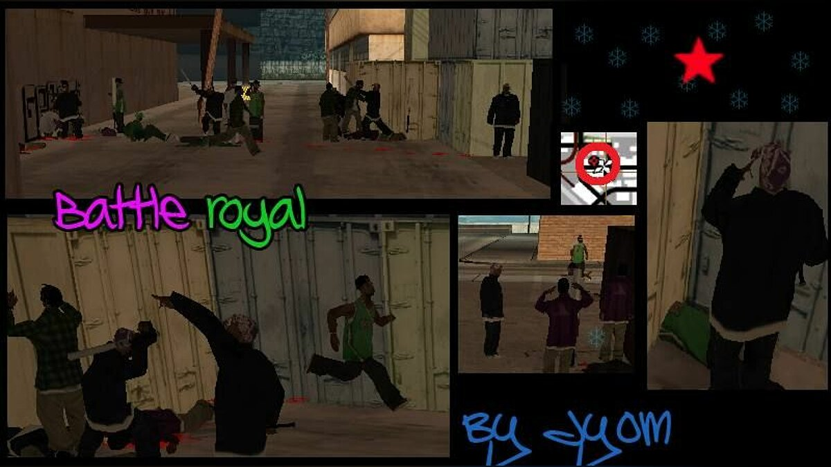 Battle royal для GTA San Andreas