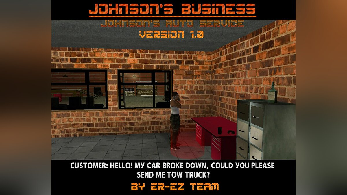 Johnson's Business (Johnson's Autoservice) version 1.0 для GTA San Andreas