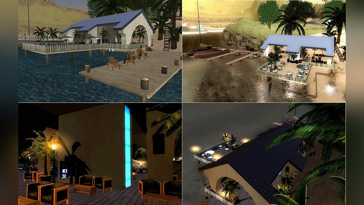 The Beach Club Safehouse для GTA San Andreas