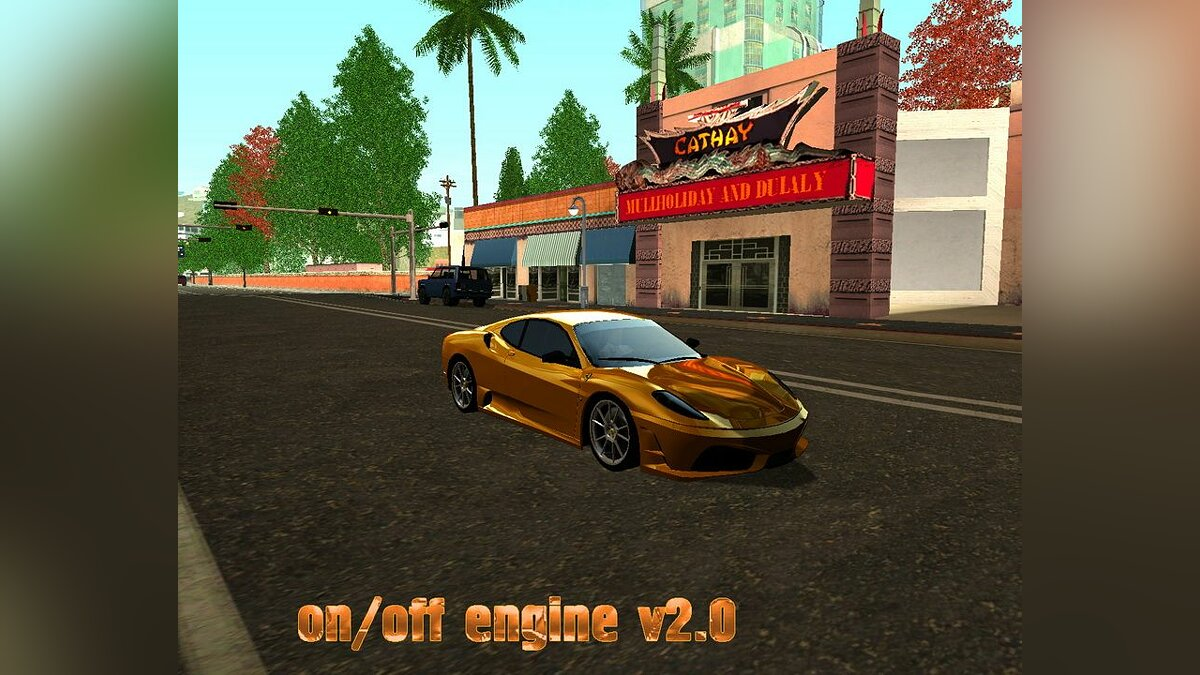 New on of engine v2.0 для GTA San Andreas
