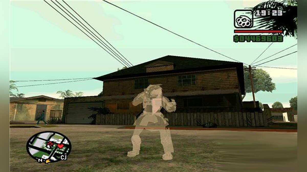 Еffects of predator v1.0 для GTA San Andreas