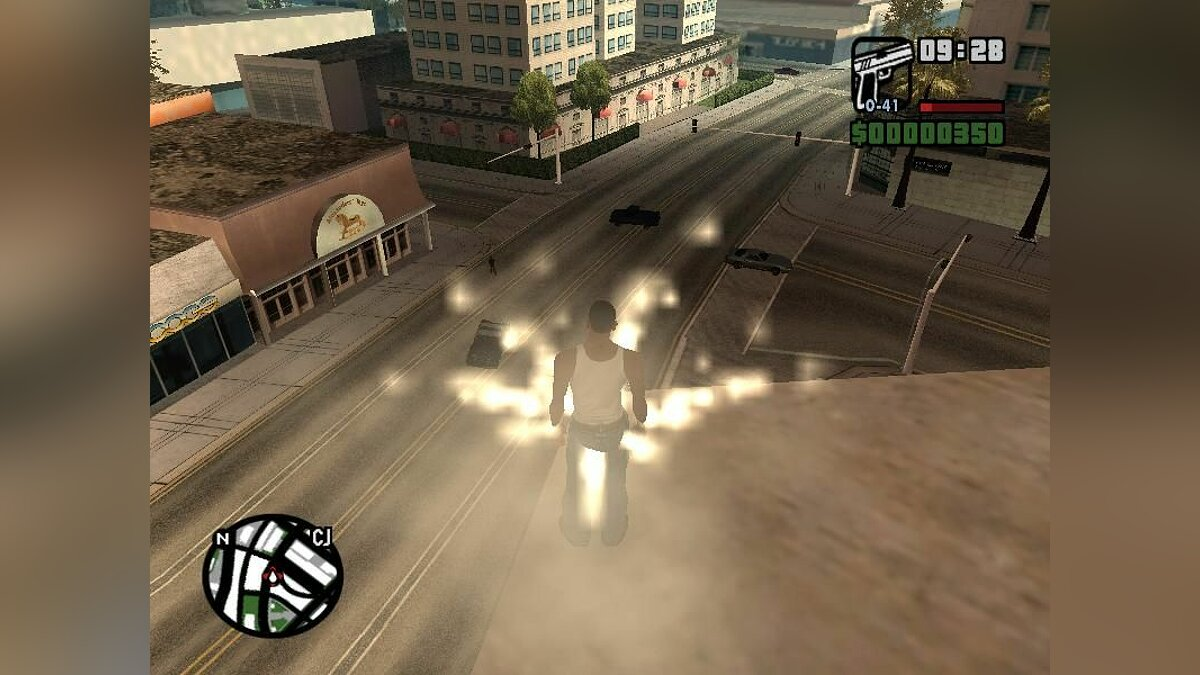 Teleport With Magic Effects для GTA San Andreas