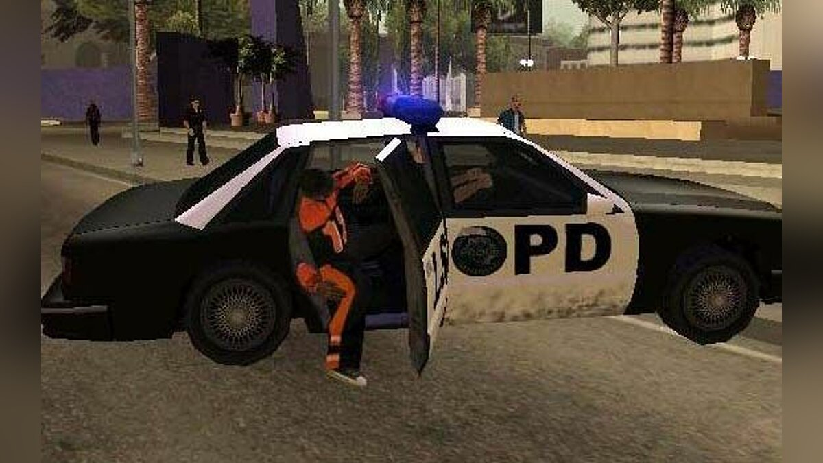 LAPD First Response CLEO для GTA San Andreas