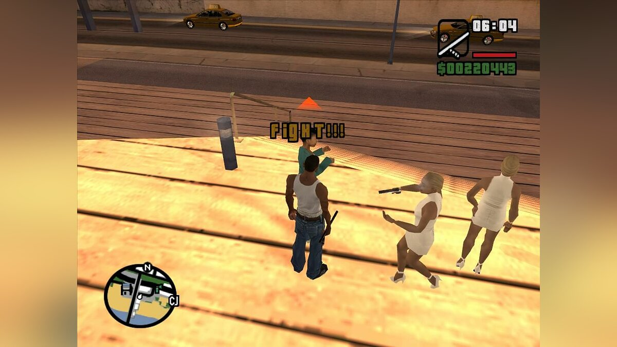 Clouding of reason для GTA San Andreas