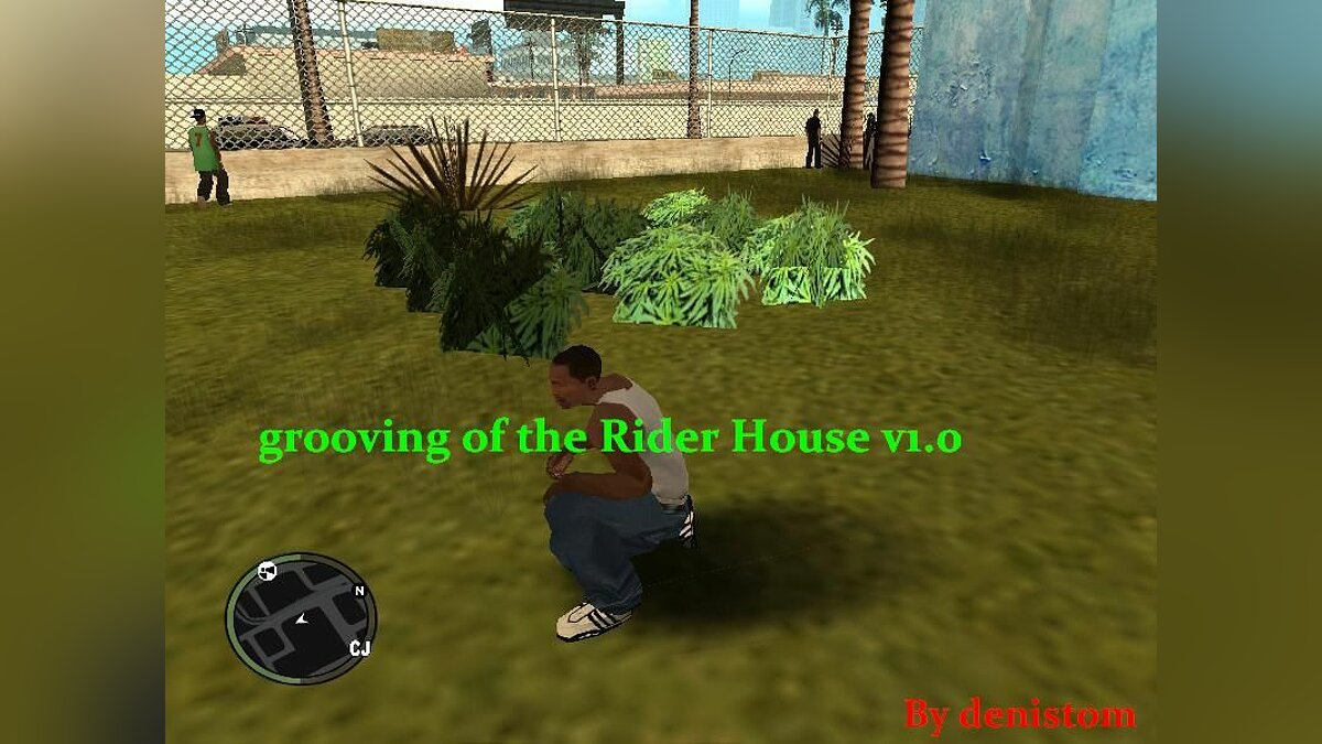 Grooving of the Rider House v1.0 для GTA San Andreas
