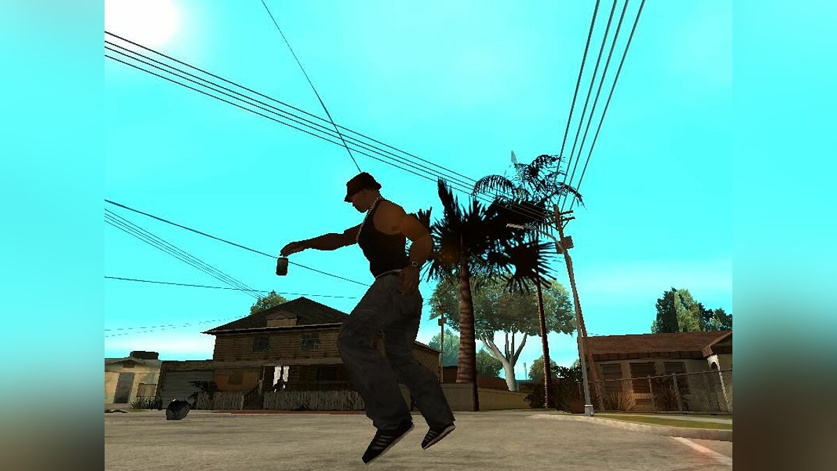 Trowing Objects Beta v1 для GTA San Andreas