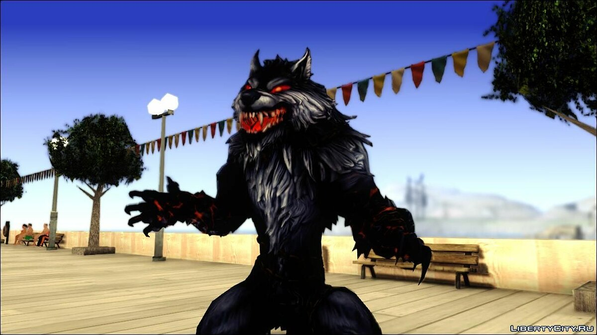 Werewolf Transformation V1.0 для GTA San Andreas - скриншот #2