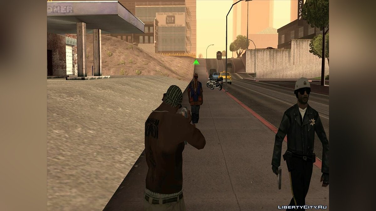 "GTA SA ""Realistic Police Attention 1.1 (CLEO 3 & CLEO 4)"" для GTA San Andreas"