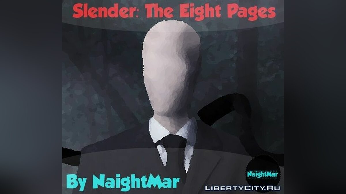 Slender: The Eight Pages для GTA San Andreas