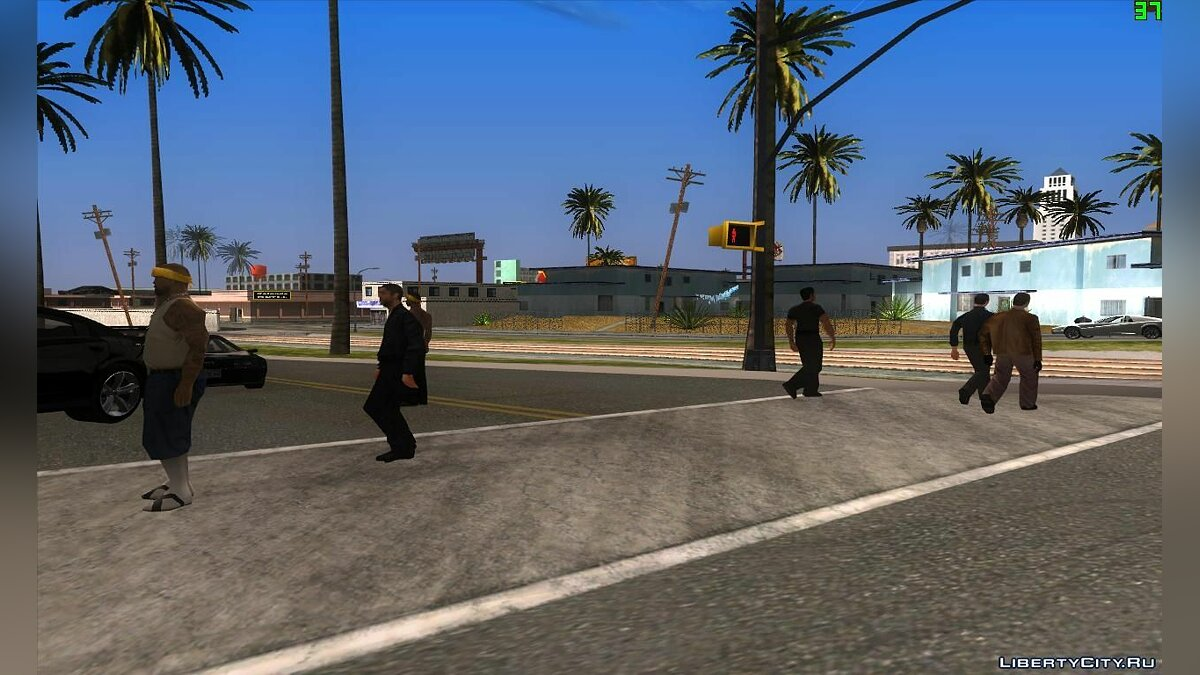 Spawn Russian Mafia для GTA San Andreas