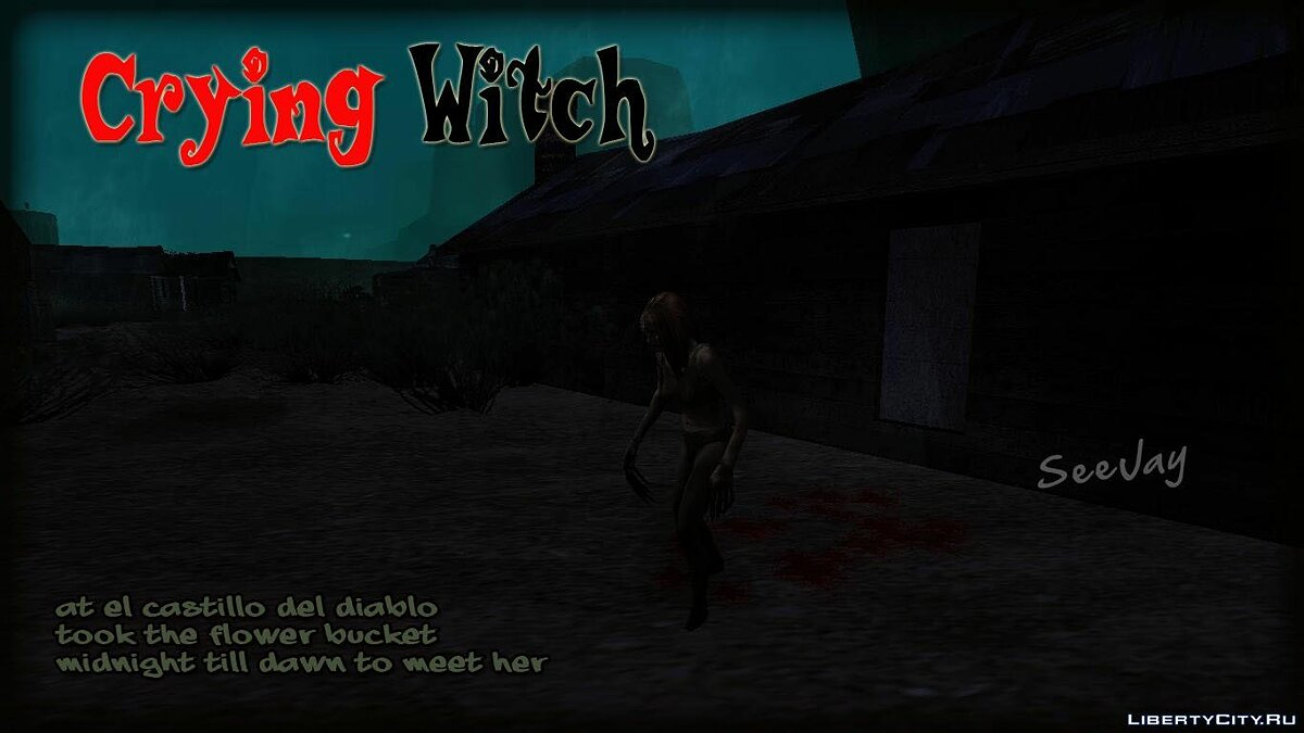 Crying Witch in Las Brujas для GTA San Andreas