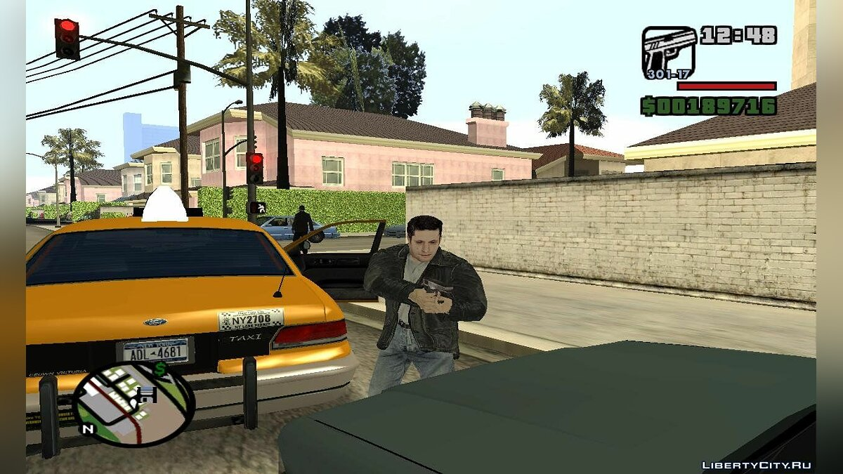 Carjack At Gunpoint для GTA San Andreas
