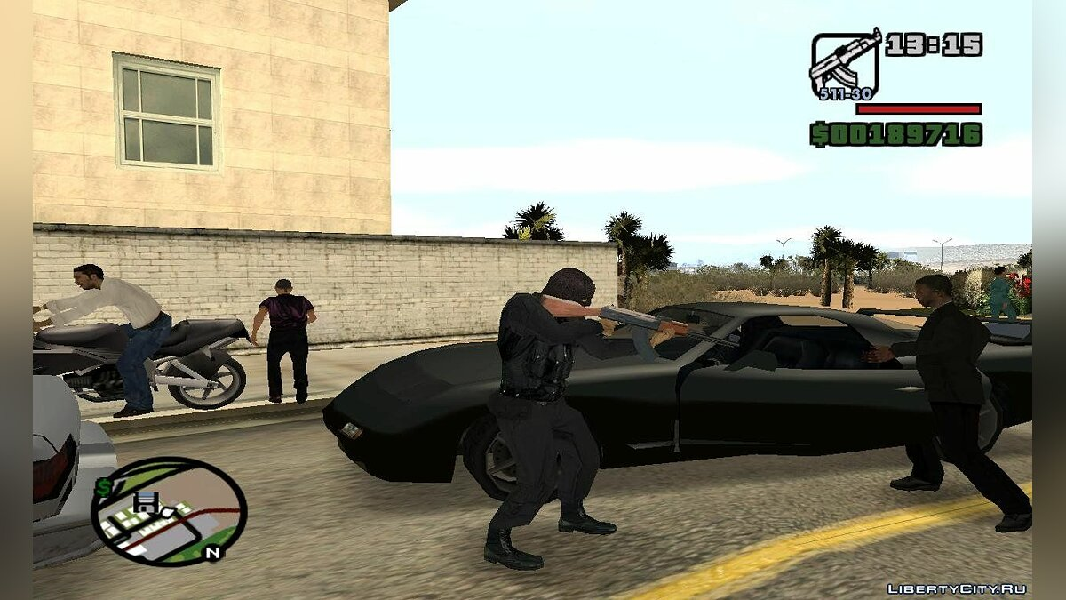 Carjack At Gunpoint для GTA San Andreas - скриншот #3