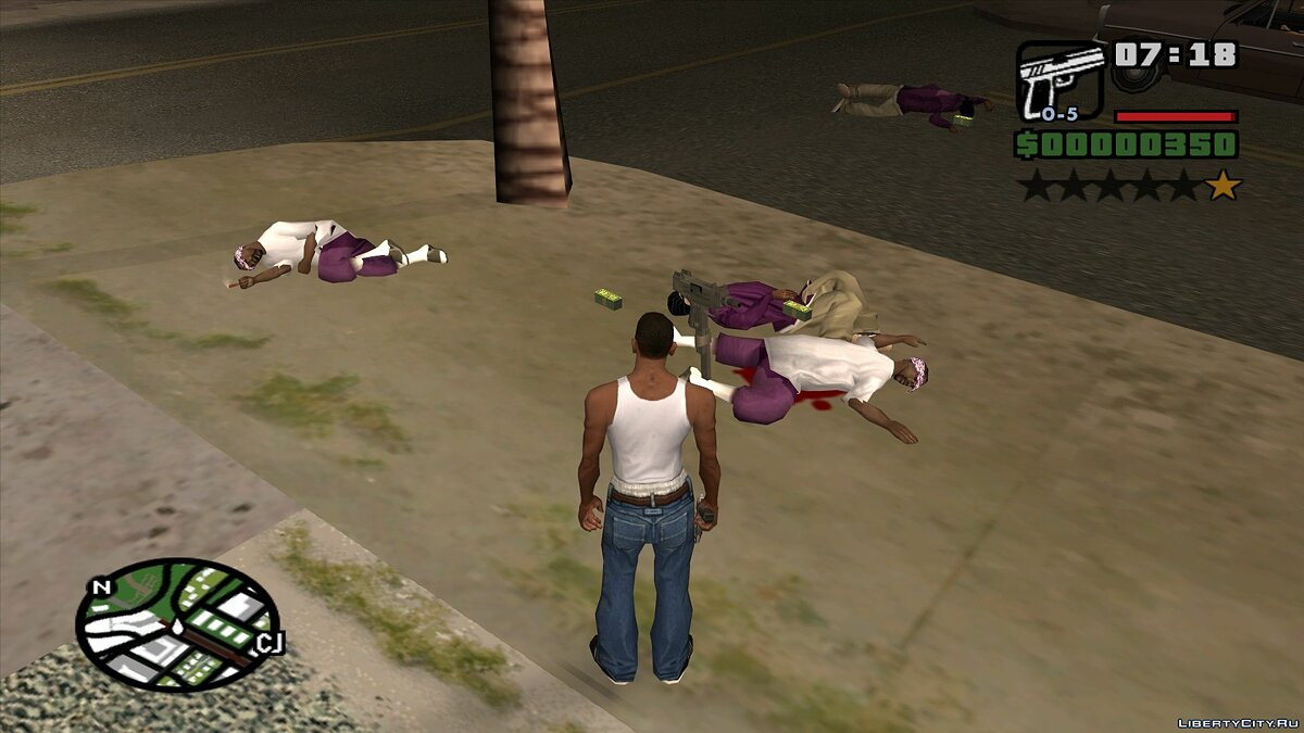 CLEO скрипт 15 New Death Animations для GTA San Andreas