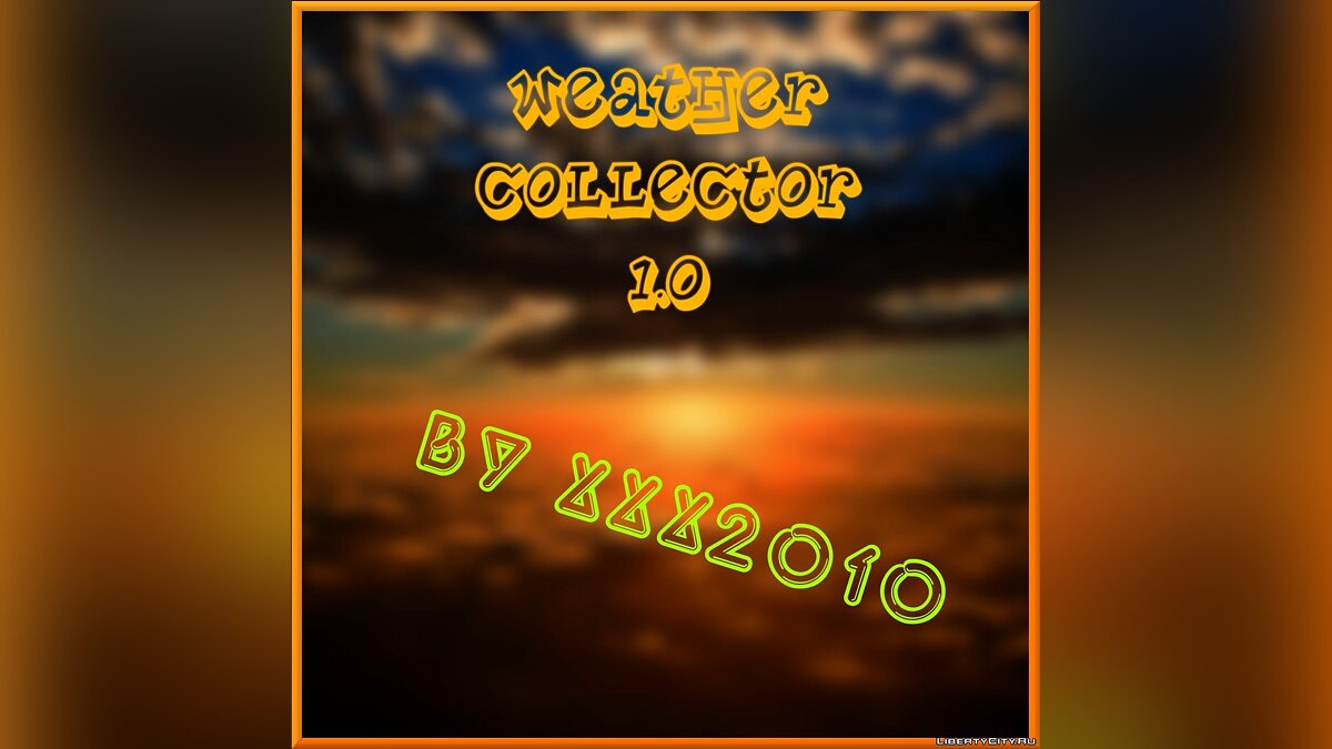 Weather Collector 1.0 для GTA San Andreas